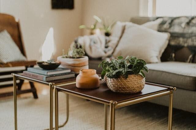 centre de taula amb elements decoraciós tardor