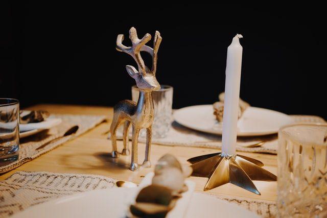 decoracio de taules per nadal