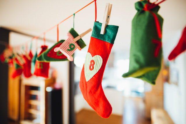 decoracio mitjons calendari advent